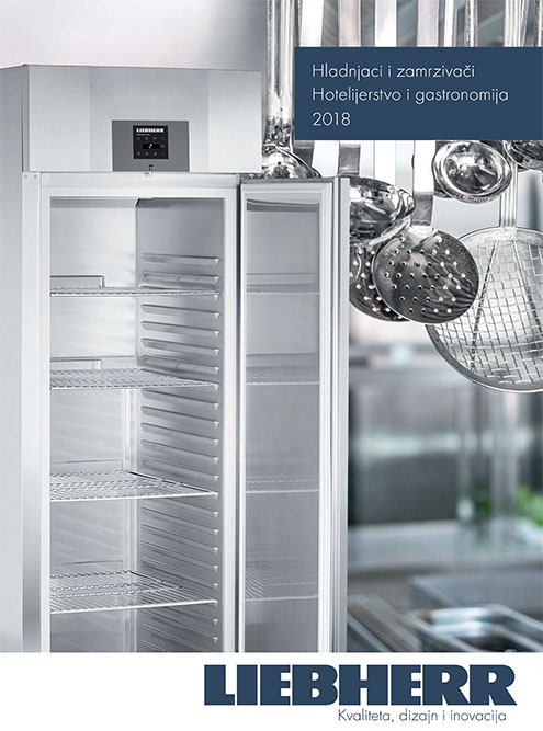Hladnjaci i zamrzivači za primjenu u hotelijerstvu i gastronomiji 2018