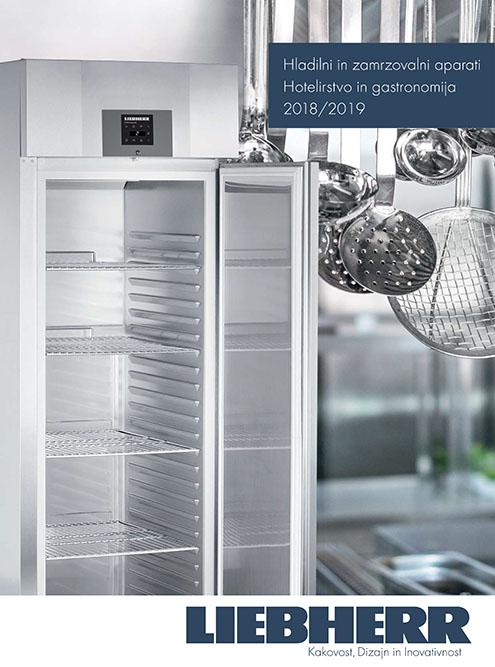 Hladilni in zamrzovalni aparati – Hotelirstvo in gastronomija 2018/2019