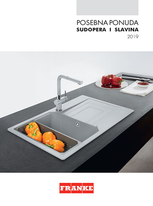 Posebna ponuda sudopera i slavina 2019