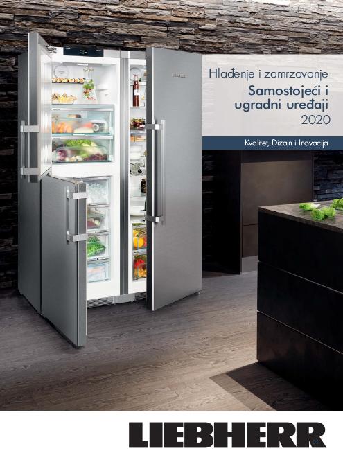 Samostojeći i ugradni uređaji – Hlađenje i zamrzavanje 2020
