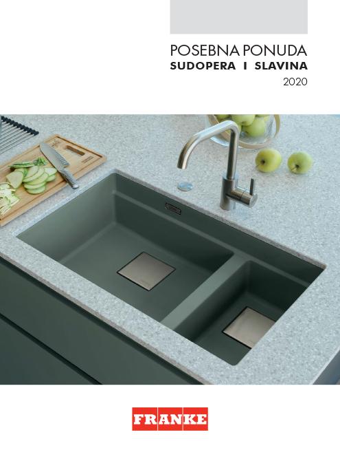 Posebna ponuda sudopera i slavina 2020