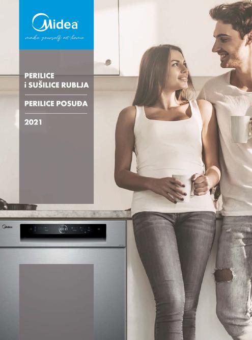Midea Laundry i perilice posuda generalni katalog 2021