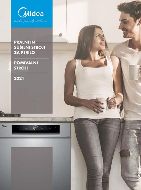 Midea Laundry in pomivalni strojigeneralni katalog 2021