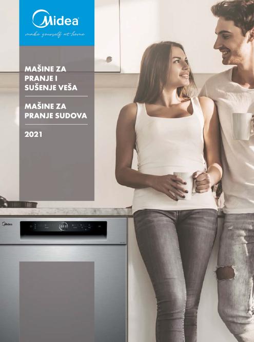 Midea Laundry i mašine za pranje sudova generalni katalog 2021